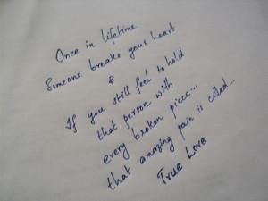 Think Different true love~