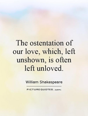 Unloved Quotes
