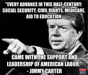 ... and leadership of American labor.