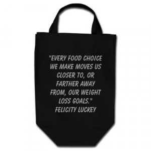 Closer Tote on Weight Loss Quotes Tote Bags From Zazzle Com