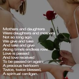 Mother Daughter relationship - Why and how does it go wrong ?