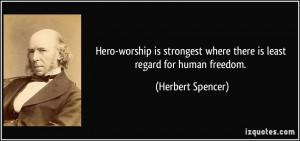 More Herbert Spencer Quotes