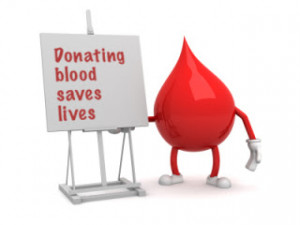 ... age and over 50 Kgs. in weight can donate blood once in three months