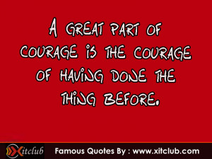 You Are Currently Browsing 15 Most Famous Courage Quotes