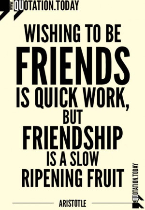 Quotations | Aristotle – Quotes on Friends