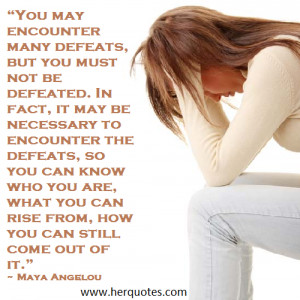 Feeling Defeated? Take Charge and Bring About Change.