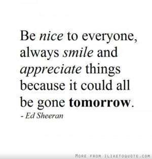 ed sheeran quotes -