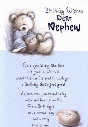 Birthday Cards, Male Relation Birthday Cards, Nephew, Birthday Wishes ...