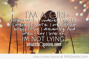 Girl - Confidence Quote