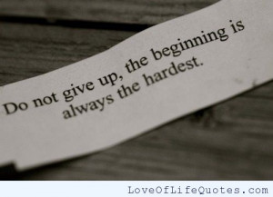 ... don t give up never give up i won t give up on us today give thanks to