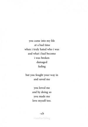 bad love poem