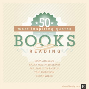 The quotes about books you'll see below are not the most famous ones ...