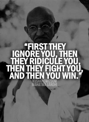 gandhi - quote