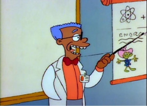 Smithers The Simpsons Black