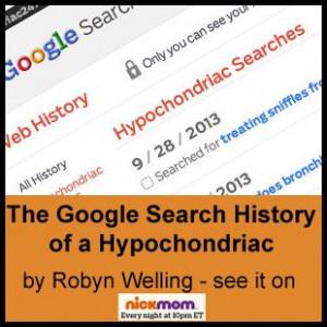 The Google Search History of a Hypochondriac - #funny stuff by Robyn ...