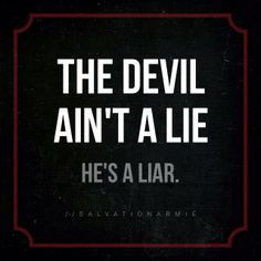 The Devil is a Liar