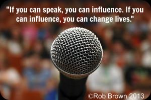 Public Speaking quote #2