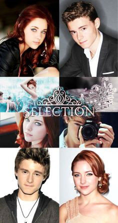 The Selection - America Singer and Prince Maxon Schreave - Haley Ramm ...