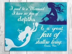 Mermaid Quotes Pinterest