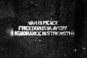 war quotes peace 1984 george orwell strength ignorance 3600x2400 ...