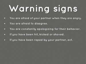 Abusive Relationship Signs