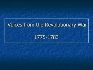 Revolutionary War Famous Quotes