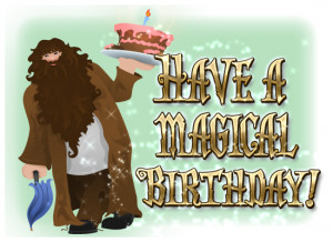 ... send this wizardly birthday eCard to the magical birthday girl or boy