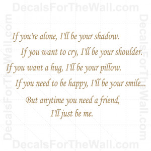 Ill-Be-Your-Shadow-Just-Me-Love-Wall-Decal-Vinyl-Art-Sticker-Quote ...