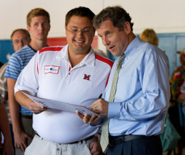 Sherrod Brown is another true cleantech champion, as I think the ...