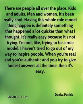 More Danica Patrick Quotes