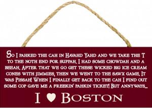 Love Boston Sign 10
