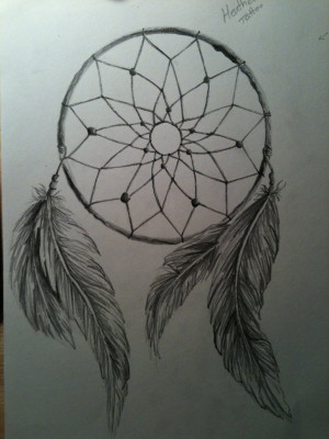 dream-catcher-tattoo-drawing