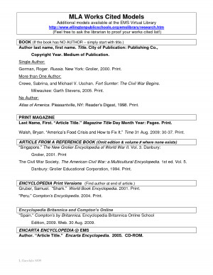 Proper Mla Format Title Page