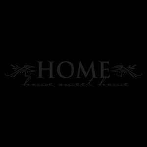 Home Sweet Home Elegant Wall Quotes™ Decal