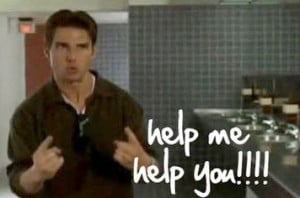 tom cruise jerry maguire help me help you gif