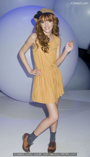 2011 Disney Kids and Family upfront at Gotham Hall Bella Thorne photo