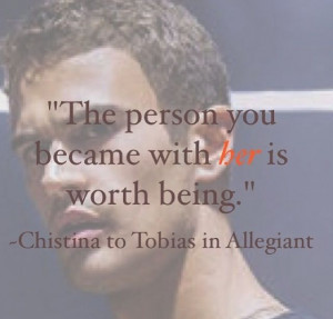 One of my favorite Allegiant quotes