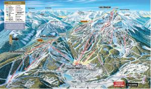 Big Sky Montana Ski Map