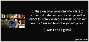 More Lawrence Ferlinghetti Quotes