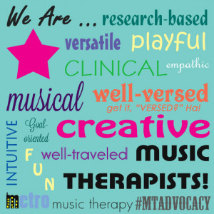In case you are just joining us, January is Music Therapy Social Media ...