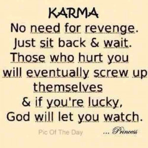 Bad Karma Quotes Revenge Quotes http://www.tumblr.com/tagged/karma ...