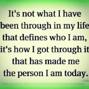 define #myself #quotes #quotegraphy #quote #iam #today #life #through