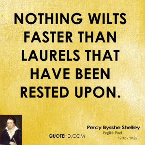 Percy Bysshe Shelley Quotes