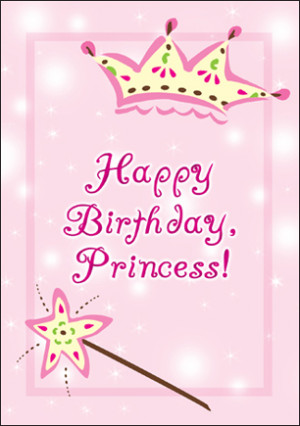 Awesome Princess Birthday Card Quotes Quotesgram Funny Birthday Cards Online Hetedamsfinfo