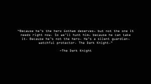 Dark Knight Wallpaper 1366x768 Dark, Knight, Quotes