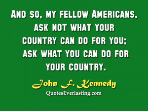 John F Kennedy Quotes Ask Not Posted by jfk quotes