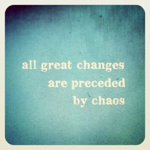 Get comfortable with Chaos