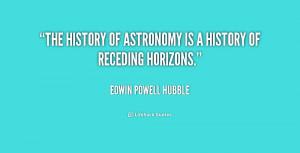 Edwin Hubble Quotes