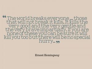 21 famous Ernest Hemingway quotes