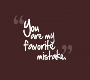 My Mistake - Quotes Wallpaper